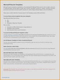 Ms Word Letter Template Free Valid Beautiful Cover Microsoft Mac
