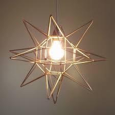 geometric moravian star light tutorial
