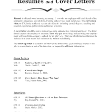 Resume What Does Cover Letter Mean Financial Film In 21