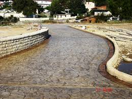 stamped concrete decorative and