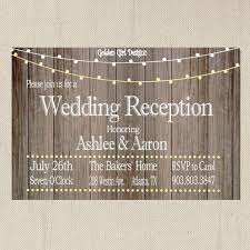 best 25 reception only invitations ideas on pinterest reception Wedding Reception Only Invitations vintage lights wedding reception invitation on wooden background, reception only invitation, rustic wedding invitation wedding reception only invitations wording