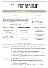 Professionally written and designed resume samples and resume examples. College Student Resume Sample Writing Tips Resume Genius