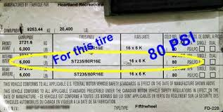 Step 4 Rv And Tow Vehicle Tire Inflation Procedures Tire