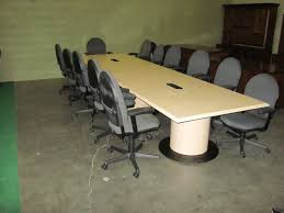office conference table design. Interesting Office Ce Table 14 Ft Light Maple Finish Laminate Offered By Classic Office  Interiors Conference Inside Design