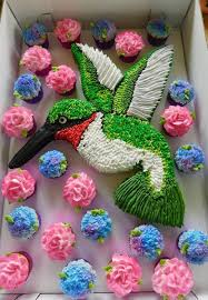 Hummingbird Cupcake Cake Cakes In 2019 Cupcake Cakes Cake