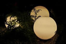 outdoor lighting balls. Lamps Outdoor Lighting Garden Balls Night