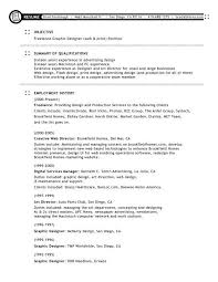 Graphic Design Resume Objective Graphic design resume objective examples interior of resumes 13