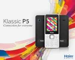 Haier Mobile brings you Klassic P5 ...
