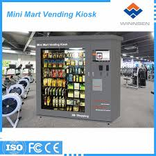 Outdoor Vending Machine Best Public Use Outdoor Type Mini Mart Vending Machine With Shelter View