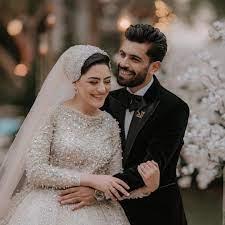 شقيق محمد صلاح وزوجته فى جلسة التصوير الرسمية لحفل زفافه.. صور جديدة -  اليوم السابع