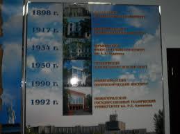 в Нижнем Новгороде НГТУ состоялась успешная защита  Основные этапы развития института в университет