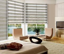 Roller Blinds For Kitchen Aliexpresscom Buy Zebra Stripe Double Layer Kitchen Curtains