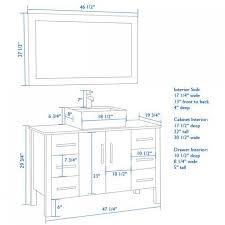 standard bathroom vanity height. Standard Bathroom Vanity Counter Height Home Design Ideas Designed For Your Apartment N