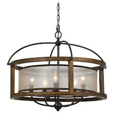 cal lighting mission wood and metal 5 light pendantchandelier cal lighting wood chandelier