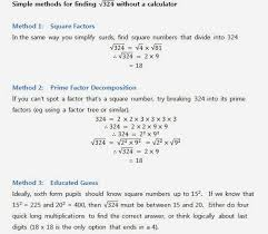 note that if the quadratic equation can t be factorised in the first place then we can either use the formula or complete the square to solve it
