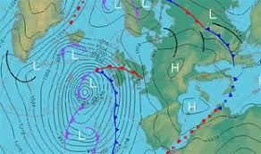 surface pressure charts high and low pressure met office
