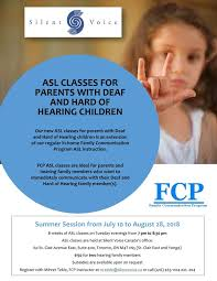 Fcp Summer Asl Classes Bob Rumball Organizations