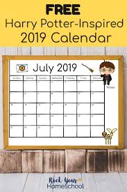 Calendar Wizard 2015 Free Harry Potter Inspired Calendar For A Magical 2019 Hp Marathon