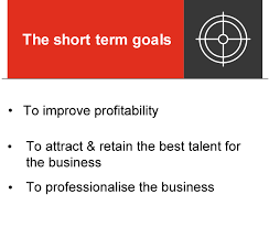 Short Term Professional Goals Short Term Approaches For Long Term Goals