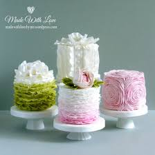 Ruffles Cake Design Ruffles Cakes Mini Wedding Cakes Ruffle Cake Small Cake