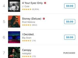 Rap 2017 Charts Nobigdyl S Canopy Reaches Top 10 On Itunes Rap Hip Hop