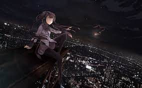 Alone Anime Girl Wallpapers - Top Free ...