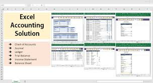 Chart Of Accounts Uk Excel All Excel Accounting And Bookkeeping Solution Template