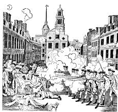 boston massacre by paul revere clipart etc boston massacre by paul revere