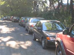 Image result for street parking jammed picture