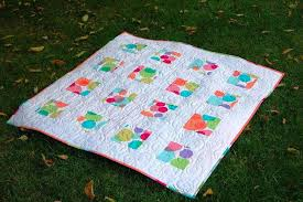 Modern Quilt Patterns Patchwork Handmade — Joanne Russo ... & Image of: Contemporary Baby Quilt Patterns Adamdwight.com