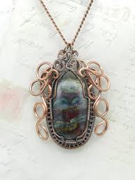 edwardian amulet heirloom necklace by jkccreation