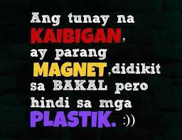 Tagalog Quotes About Friendship Magnificent Quotes About Friendship Tagalog 48 QuotesBae