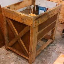 Rustic pine bathroom vanities Homemade Rustic Bathroom Vanity From Reclaimed Pine By Mark Martone Custommadecom Hand Made Knotty Pine Bathroom Vanity By Harrys Cabin Furniture