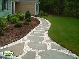 flagstone patio with grass. Serving All Of Cape Cod, From Cotuit To Chatham, Osterville Orleans, Woods Hole Wellfleet. Flagstone Patio With Grass