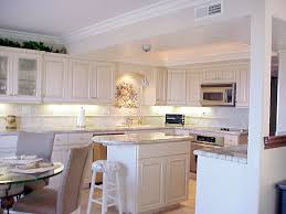 Kitchen Counter Marble Kitchen Marble Countertop And Ledlighting And A Dining Table Set