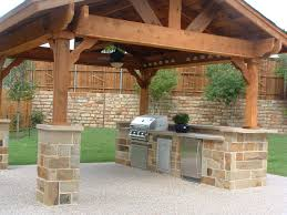 Granite For Outdoor Kitchen Modern Outdoor Kitchen Cabinets Simple Stainless Steel Propane Gas