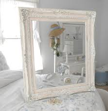 vintage chic bedroom furniture. Lovely Image Gallery From Shabby Chic Girls Bedroom Ideas : Wondrous White Rustic Mirror Frame For Vintage Furniture