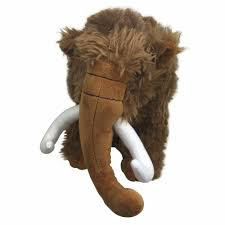 woolly mammoth soft plush toy by elka