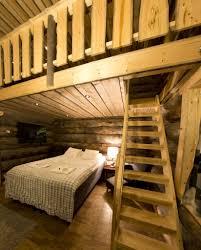 Log Bedroom Suites Accommodation Nellim