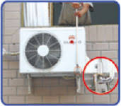 air conditioning fitting. air conditioner installation spanner conditioning fitting