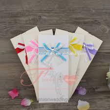 Envelope Design Handmade Diy Handmade Elegant Pocket Envelope Design Wedding Invitation With Ribbon Buy Envelope Wedding Invitation Pocket Envelope Wedding Invitation Pocket