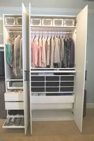 Best Ikea Closets Images On Ideas And Outstanding Bedroom Closet Organizers  Doors