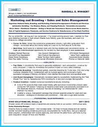 Sales Manager Resume Templates Saneme