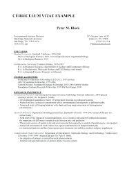 Molecular Biologist Education Biology Resume Template Resume