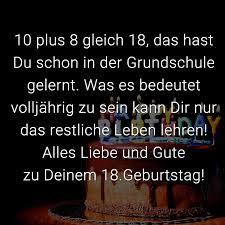 ᐅ Glückwünsche Zum 18 Geburtstag Beliebt Lustig Kreativ