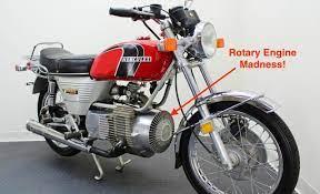 suzuki motorcycle rotary engine