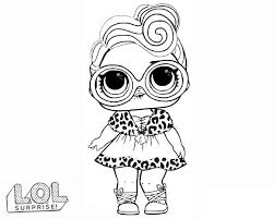 Lol surprise doll coloring pages are black and white images of cute toy dolls hidden in a ball, which quickly became popular among girls around the world. Lol Surprise Dolls Coloring Pages Print Them For Free All The Series