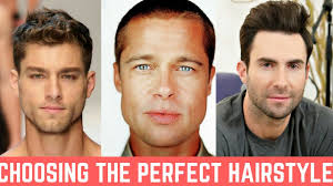 Finding The Right Hairstyle getting the perfect mens haircut that suits your face youtube 4513 by stevesalt.us