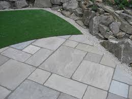 Small Picture Tumbled Raj Green Indian Stone Patio Indian sandstone in Raj