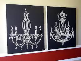 metal chandelier wall art beautiful stunning canvas high definition decor sconce decoration